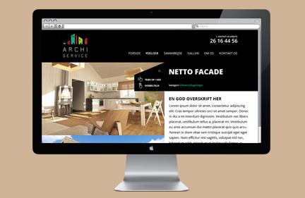 Archiservice webdesign