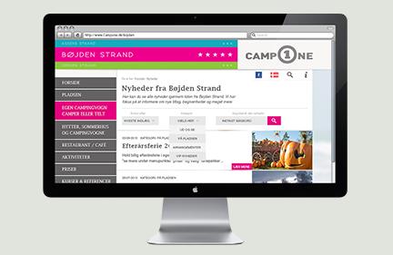 CampOne webdesign